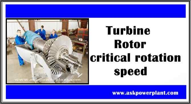 Turbine Rotor critical rotation speed