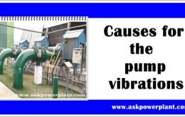 Causes for the pump vibrations