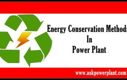 Energy Conservation methods in power plant