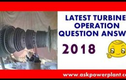 LATEST TURBINE OPERATION QUESTION ANSWER 2018