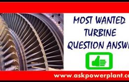 MOST WANTED TURBINE QUESTION ANSWER