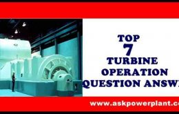 TOP 7 TURBINE OPERATION QUESTION ANSWER