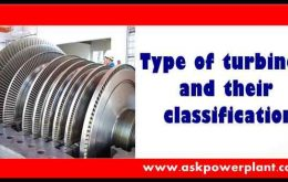 TYPE OF TURBINES AND THEIR CLASSIFICATION