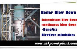 Boiler blow down procedure types, benefits, calculation