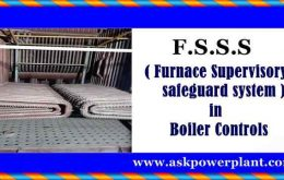F.S.S.S ( Furnace Supervisory safeguard system ) in boiler controls