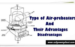 Types of Air-preheater and their Advantages and Disadvantages
