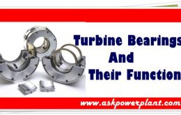 steam turbine bearings and their function