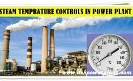 DIFFERENT METHODS OF STEAM TEMPERATURE CONTROLS IN POWER PLANT
