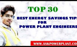 TOP 30 ENERGY SAVINGS TIPS FOR POWER PLANT ENGINEERS