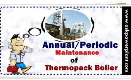 Top 16 Annual/periodic maintenance points for thermopack boiler