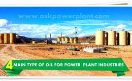 4 MAIN TYPE OF OIL FOR POWER PLANT INDUSTRIES