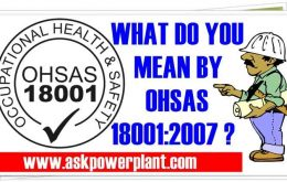 WHAT DO YOU MEAN BY OHSAS POLICY