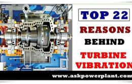 TOP 22 REASONS BEHIND TURBINE VIBRATION IN POWER PLANT