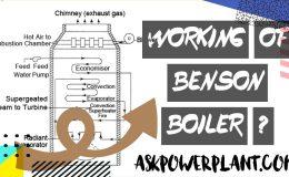 working principal of benson boiler